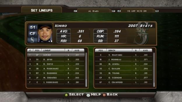 Major League Baseball 2K8 Screenshot #122 for Xbox 360