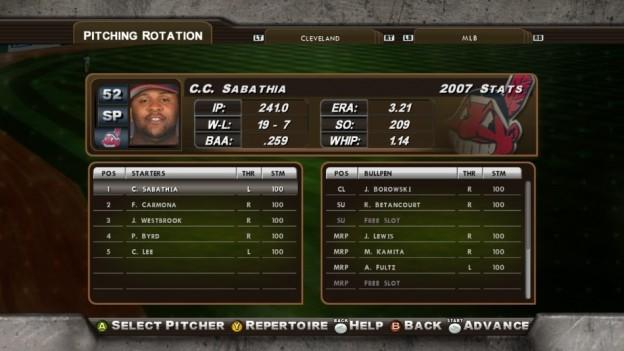 Major League Baseball 2K8 Screenshot #127 for Xbox 360