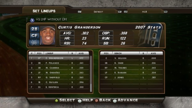 Major League Baseball 2K8 Screenshot #128 for Xbox 360