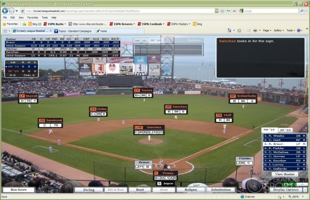 Dynasty League Baseball Online Screenshot #11 for PC