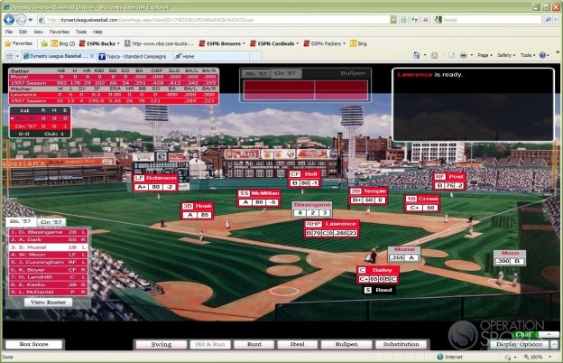 Dynasty League Baseball Online Screenshot #13 for PC