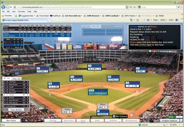 Dynasty League Baseball Online Screenshot #17 for PC