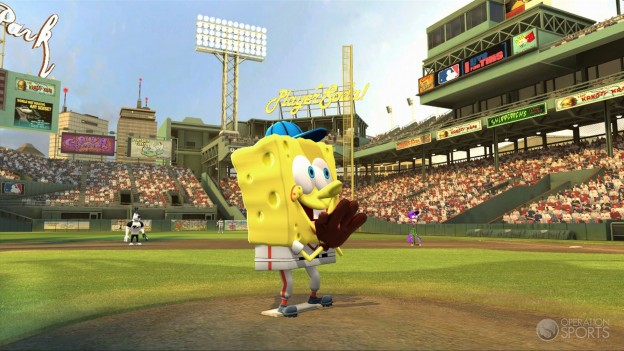 Nicktoons MLB Screenshot #2 for Xbox 360