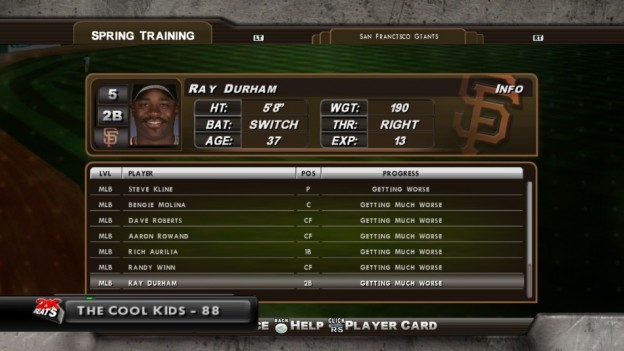 Major League Baseball 2K8 Screenshot #151 for Xbox 360