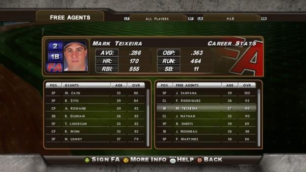 Major League Baseball 2K8 Screenshot #155 for Xbox 360