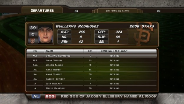 Major League Baseball 2K8 Screenshot #160 for Xbox 360