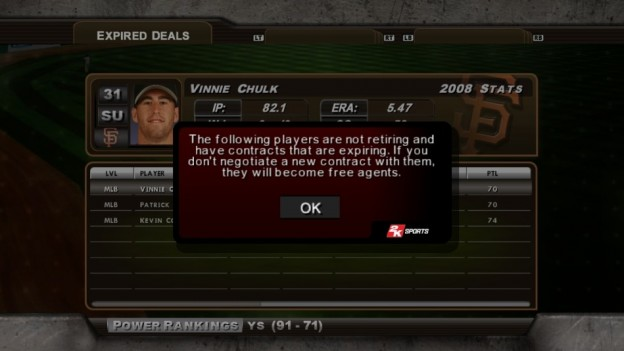 Major League Baseball 2K8 Screenshot #161 for Xbox 360