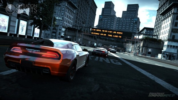 Ridge Racer Unbounded Screenshot #1 for Xbox 360