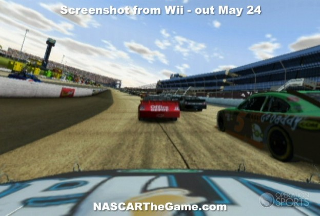 NASCAR The Game 2011 Screenshot #2 for Wii