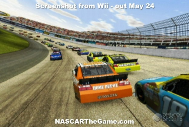 NASCAR The Game 2011 Screenshot #3 for Wii