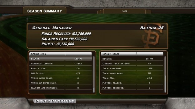 Major League Baseball 2K8 Screenshot #163 for Xbox 360