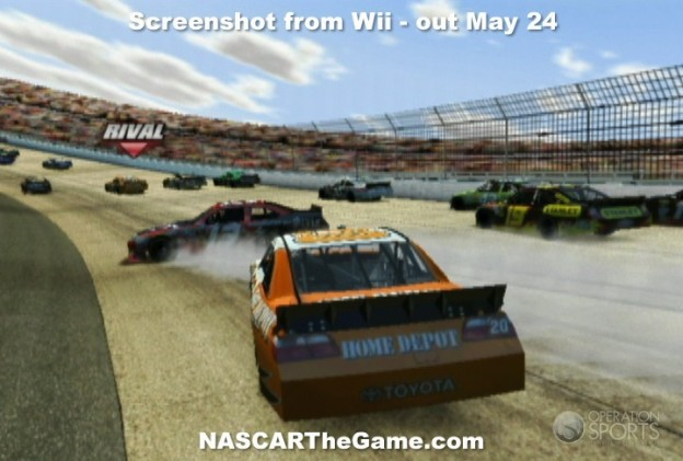 NASCAR The Game 2011 Screenshot #4 for Wii
