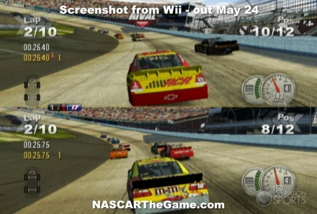 NASCAR The Game 2011 Screenshot #5 for Wii