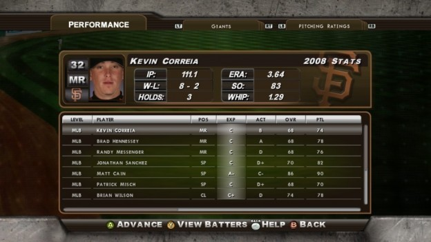 Major League Baseball 2K8 Screenshot #165 for Xbox 360