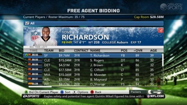 Madden NFL 12 Screenshot #221 for Xbox 360