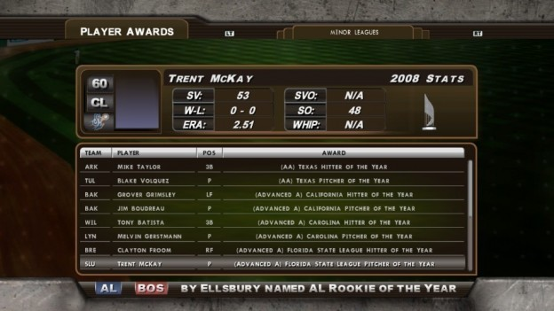 Major League Baseball 2K8 Screenshot #167 for Xbox 360
