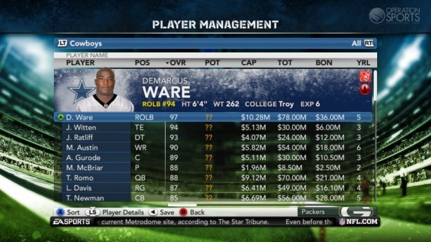 Madden NFL 12 Screenshot #122 for PS3