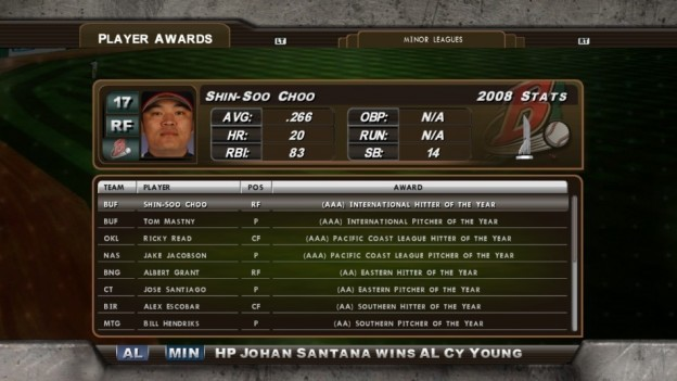 Major League Baseball 2K8 Screenshot #168 for Xbox 360