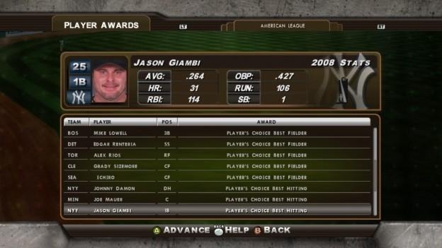 Major League Baseball 2K8 Screenshot #170 for Xbox 360