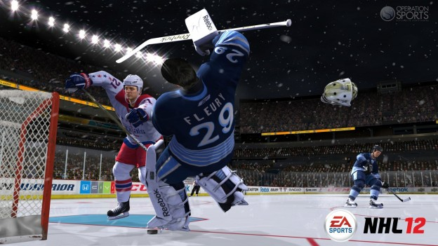 NHL 12 Screenshot #1 for Xbox 360