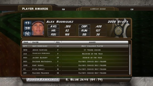 Major League Baseball 2K8 Screenshot #171 for Xbox 360