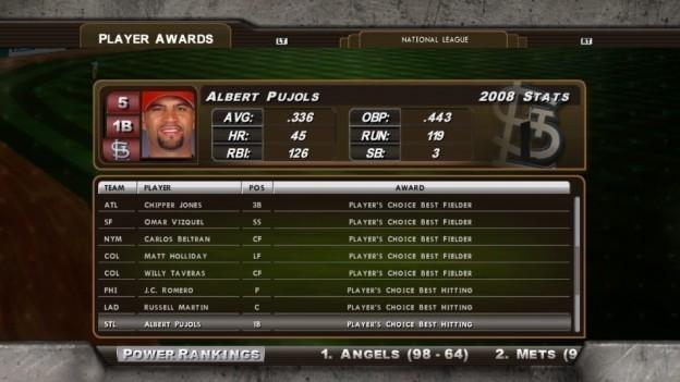 Major League Baseball 2K8 Screenshot #173 for Xbox 360