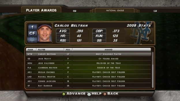 Major League Baseball 2K8 Screenshot #174 for Xbox 360
