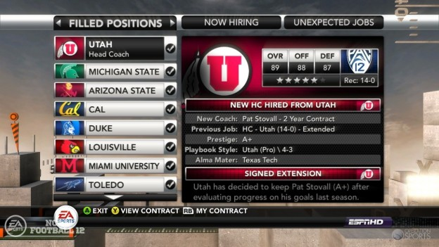 NCAA Football 12 Screenshot #264 for Xbox 360