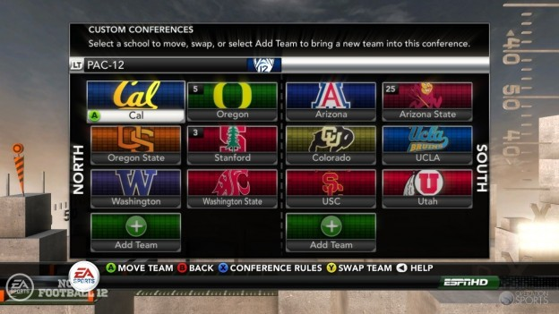 NCAA Football 12 Screenshot #270 for Xbox 360