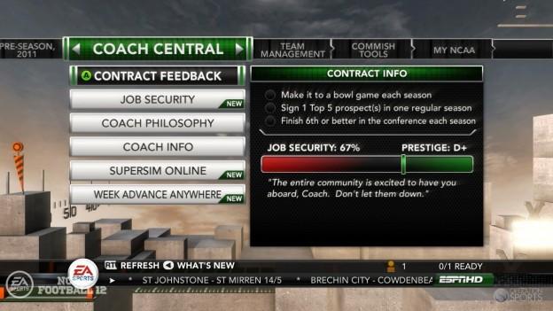 NCAA Football 12 Screenshot #275 for Xbox 360