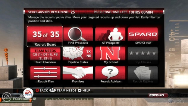 NCAA Football 12 Screenshot #278 for Xbox 360