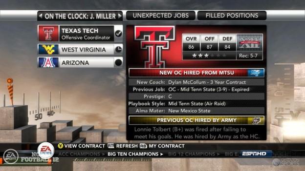 NCAA Football 12 Screenshot #279 for Xbox 360