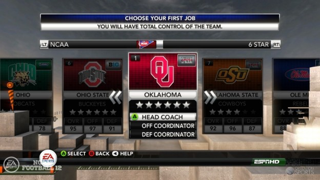 NCAA Football 12 Screenshot #262 for PS3