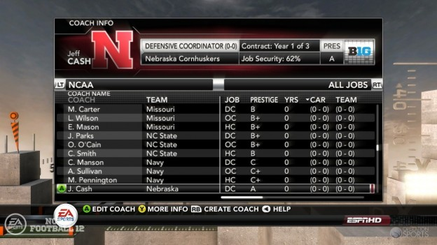 NCAA Football 12 Screenshot #263 for PS3