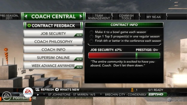 NCAA Football 12 Screenshot #269 for PS3
