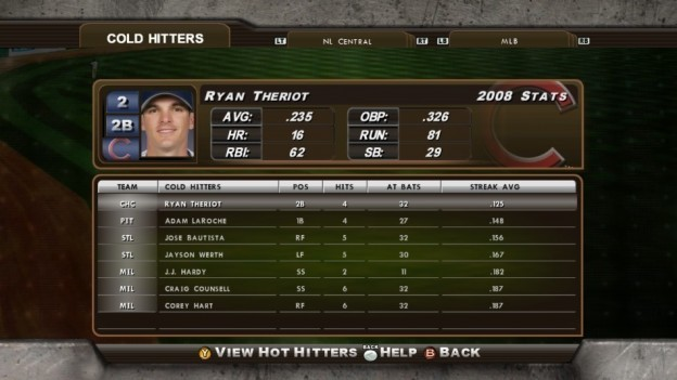 Major League Baseball 2K8 Screenshot #180 for Xbox 360