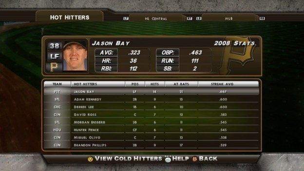 Major League Baseball 2K8 Screenshot #181 for Xbox 360