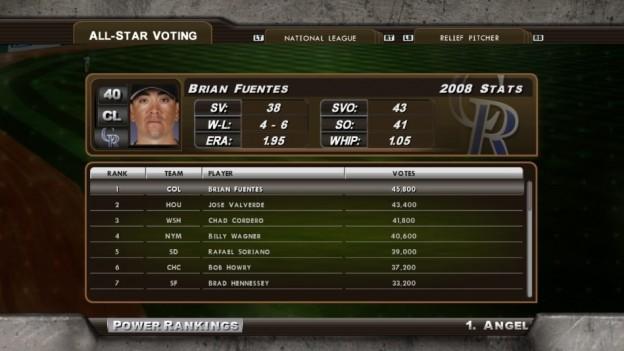 Major League Baseball 2K8 Screenshot #185 for Xbox 360
