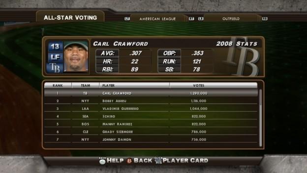 Major League Baseball 2K8 Screenshot #186 for Xbox 360
