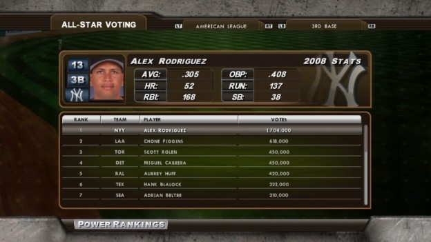 Major League Baseball 2K8 Screenshot #190 for Xbox 360