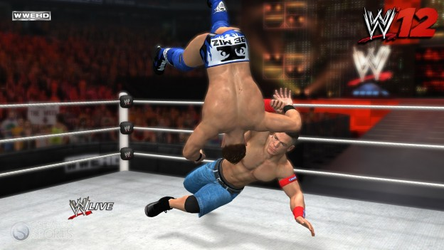 WWE '12 Screenshot #2 for PS3