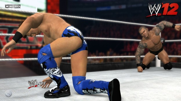 WWE '12 Screenshot #3 for PS3
