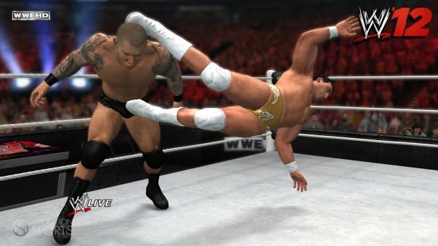 WWE '12 Screenshot #7 for PS3