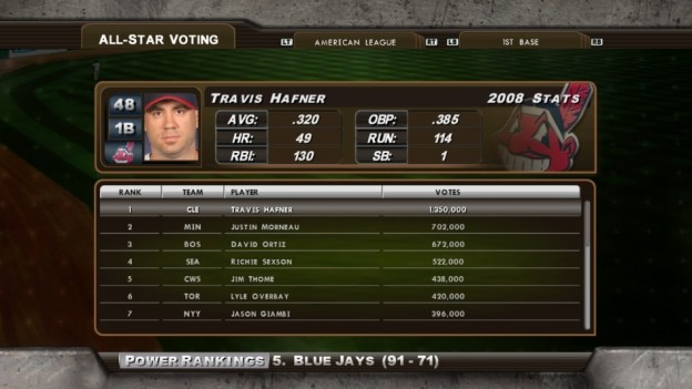 Major League Baseball 2K8 Screenshot #194 for Xbox 360