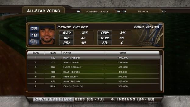 Major League Baseball 2K8 Screenshot #195 for Xbox 360