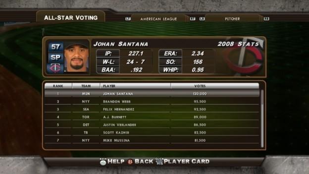 Major League Baseball 2K8 Screenshot #198 for Xbox 360