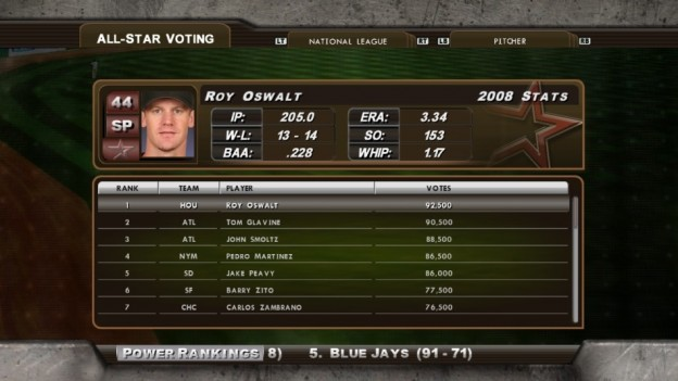 Major League Baseball 2K8 Screenshot #199 for Xbox 360