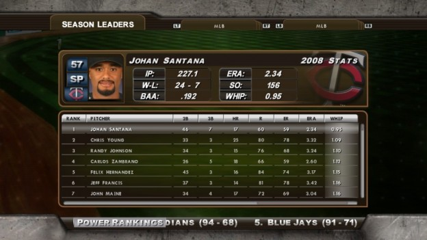 Major League Baseball 2K8 Screenshot #201 for Xbox 360