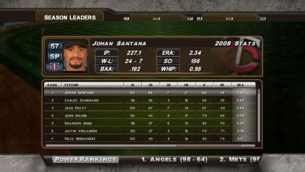 Major League Baseball 2K8 Screenshot #202 for Xbox 360