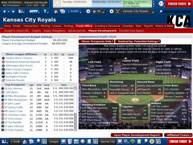 OOTP 12 Screenshot #6 for PC
